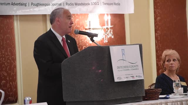 New York State Comptroller Thomas DiNapoli speaks about a recent report on the economic status of New York's regions after the great recession.