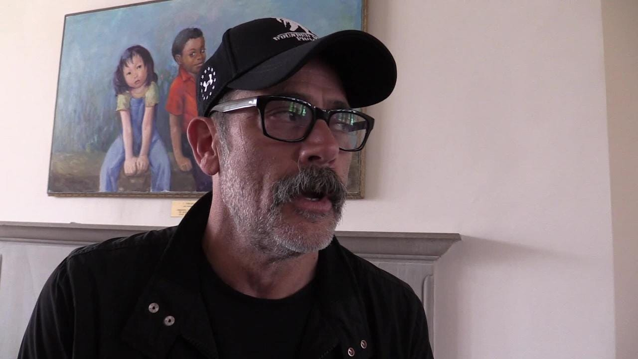 Video: Jeffrey Dean Morgan on The Walking Dead, Zombies and his role in the series
