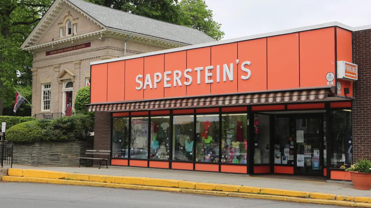 Lewis Saperstein talks about the family owned Saperstein's Department Store in Millerton, New York.