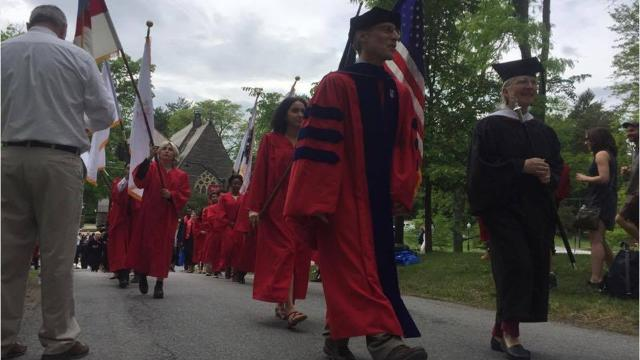 On Saturday, Bard College celebrated the graduation of 421 undergraduate students and 133 graduate students in its 157th commencement ceremony. Video by Jack Howland/Poughkeepsie Journal