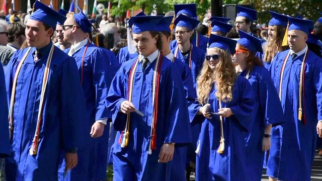 A look at the SUNY New Paltz 2017 graduation.