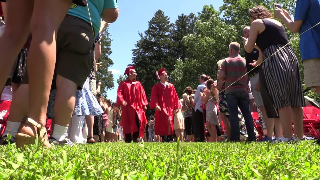 Red Hook High School celebrates their 111th graduation ceremony.