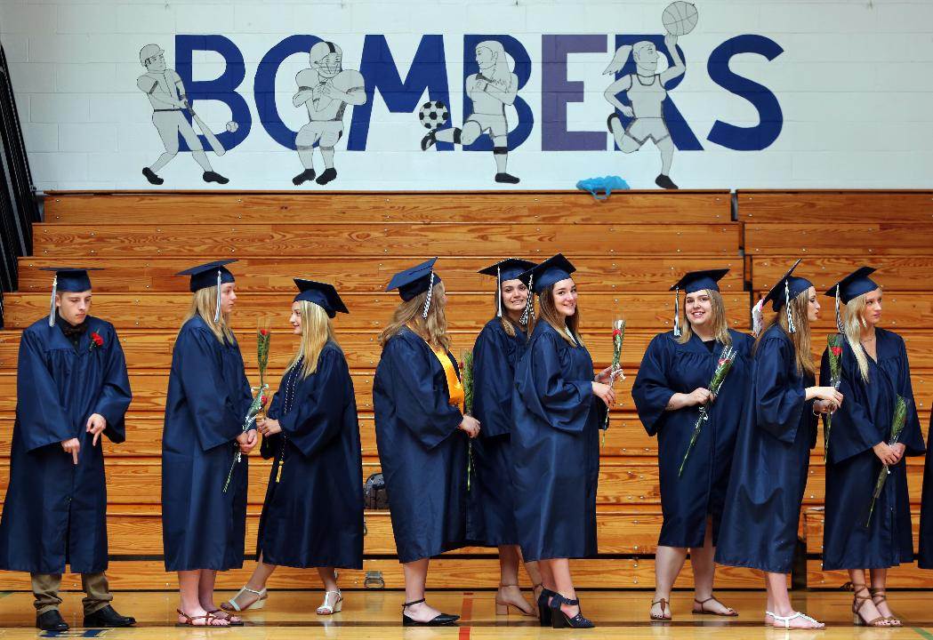 A glimpse of the Stissing Mountain High School graduation June 23, 2017 in Pine Plains.