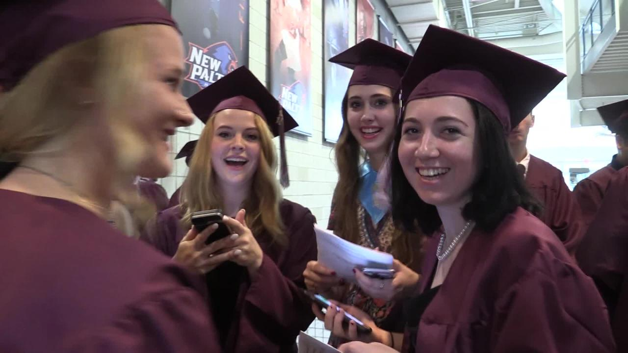 New Paltz Central High School held its 85th annual graduation at SUNY New Paltz Friday evening.