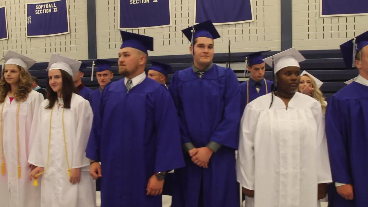 The Millbrook High School class of 2017 commencement ceremony at the high school June 23, 2017. Frank Becerra Jr/Poughkeepsie Journal