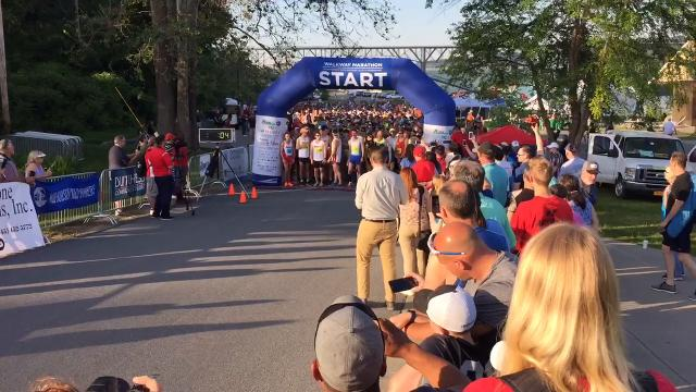 Walkway Marathon kicks off