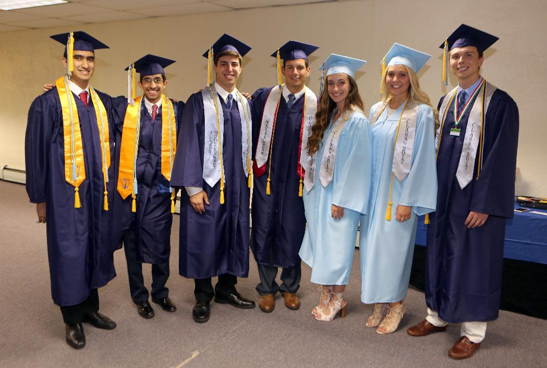 Scenes from the John Jay High School graduation at the Mid-Hudson Civic Center in Poughkeepsie, June 23, 2017.