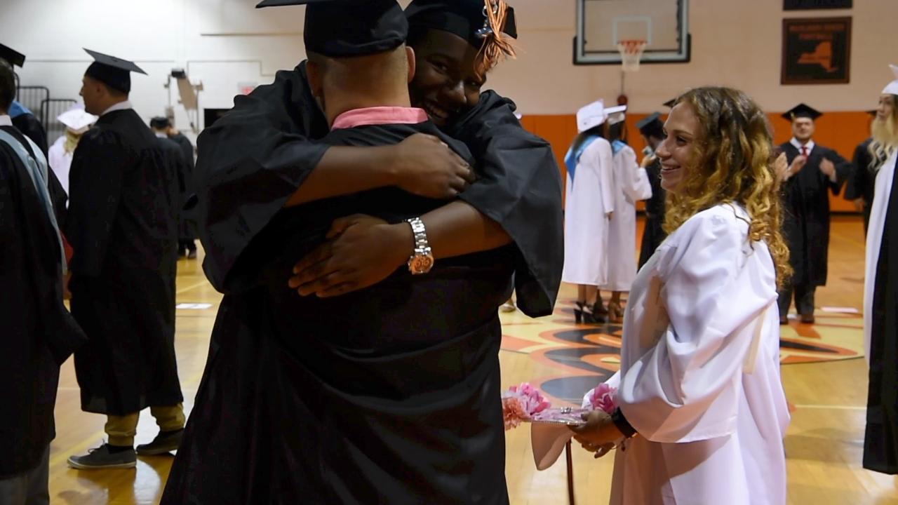 A view of Marlboro High School's 2017 graduation.