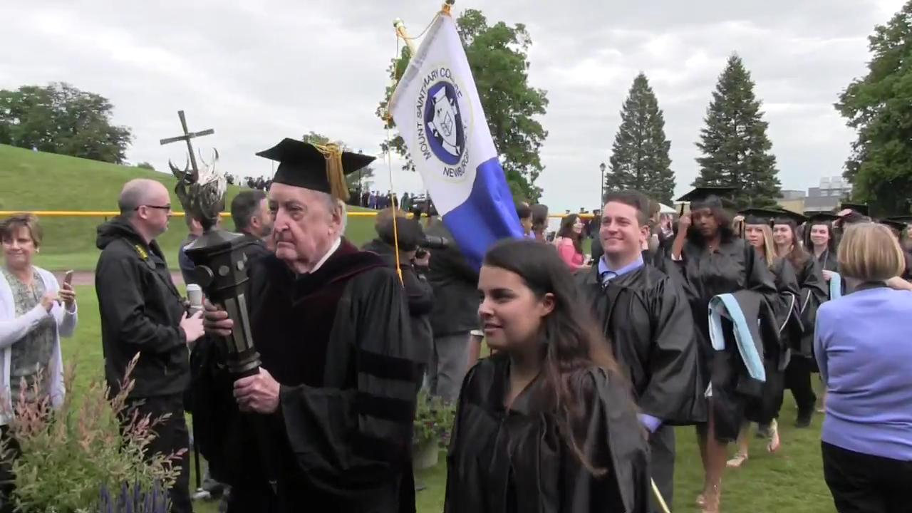 On Saturday, May 20, Mount Saint Mary held its 54th commencement for bachelor's degrees and the 32nd commencement for master's degrees.