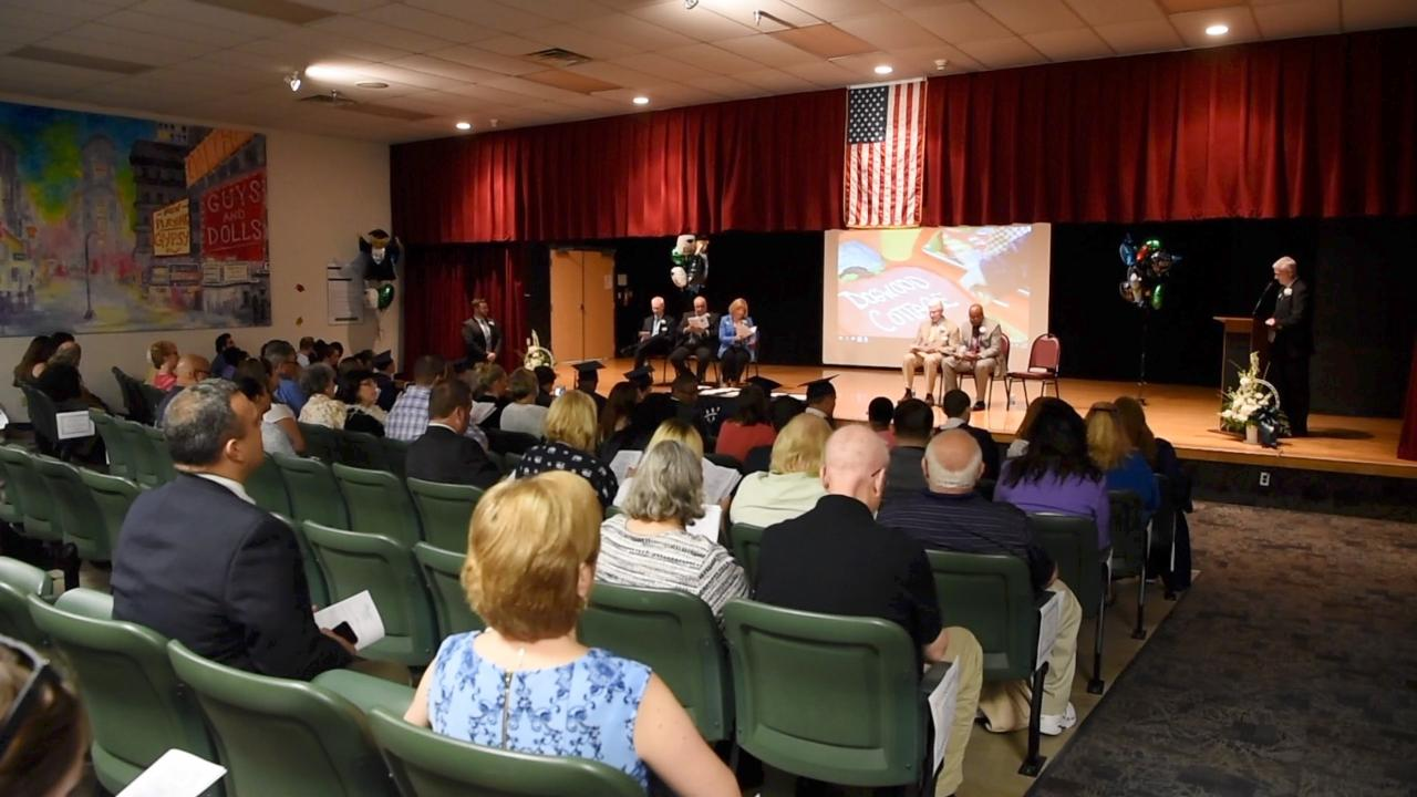 A view of Anderson Center for Autism's 2017 graduation.