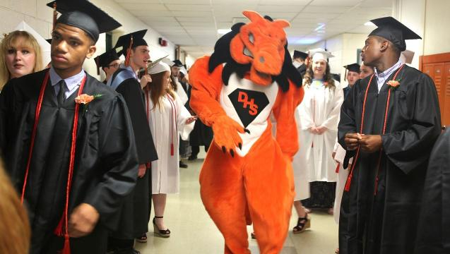 Dover High School celebrated their graduation June 24, 2017, at their school in Dover Plains.
