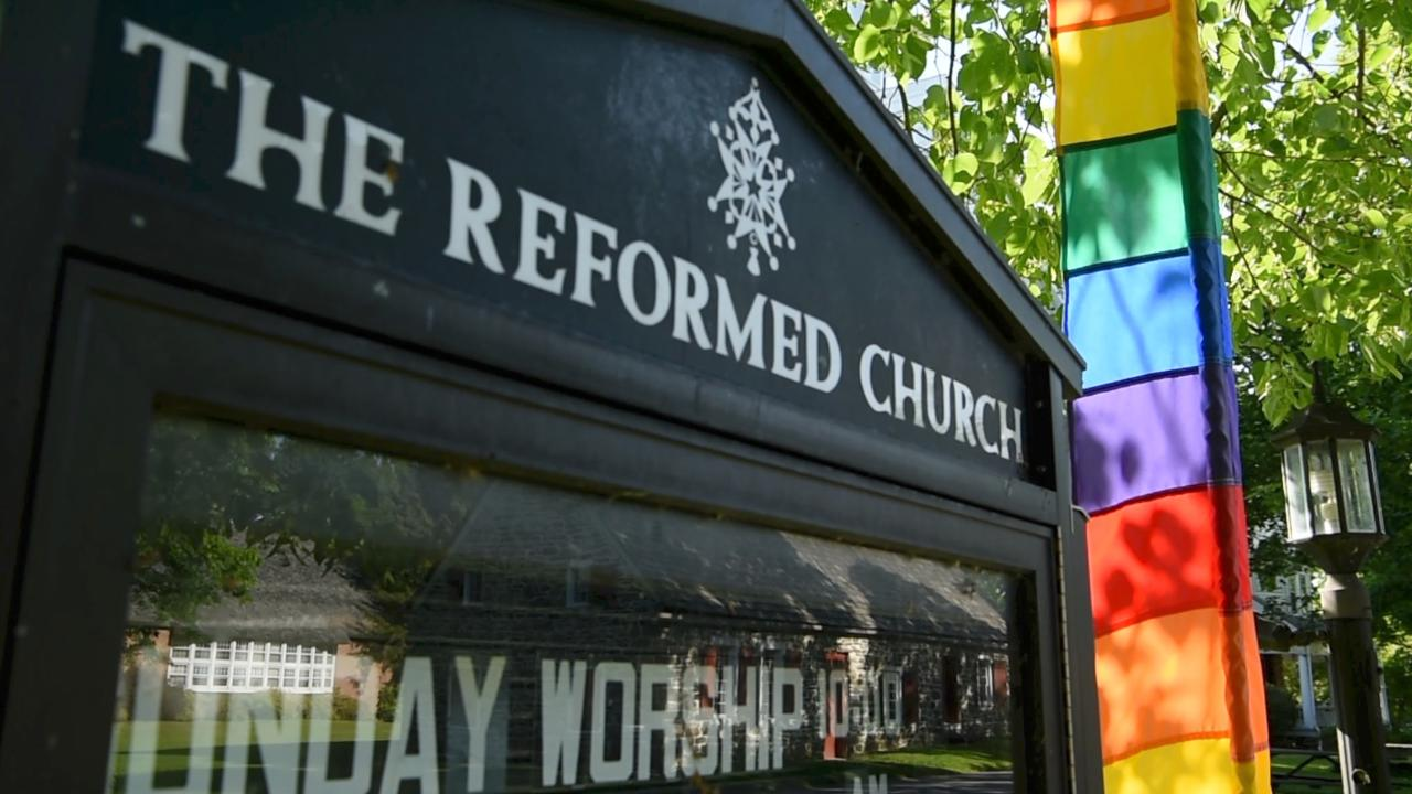 New Paltz same-sex wedding highlights division within Reformed Church in  America