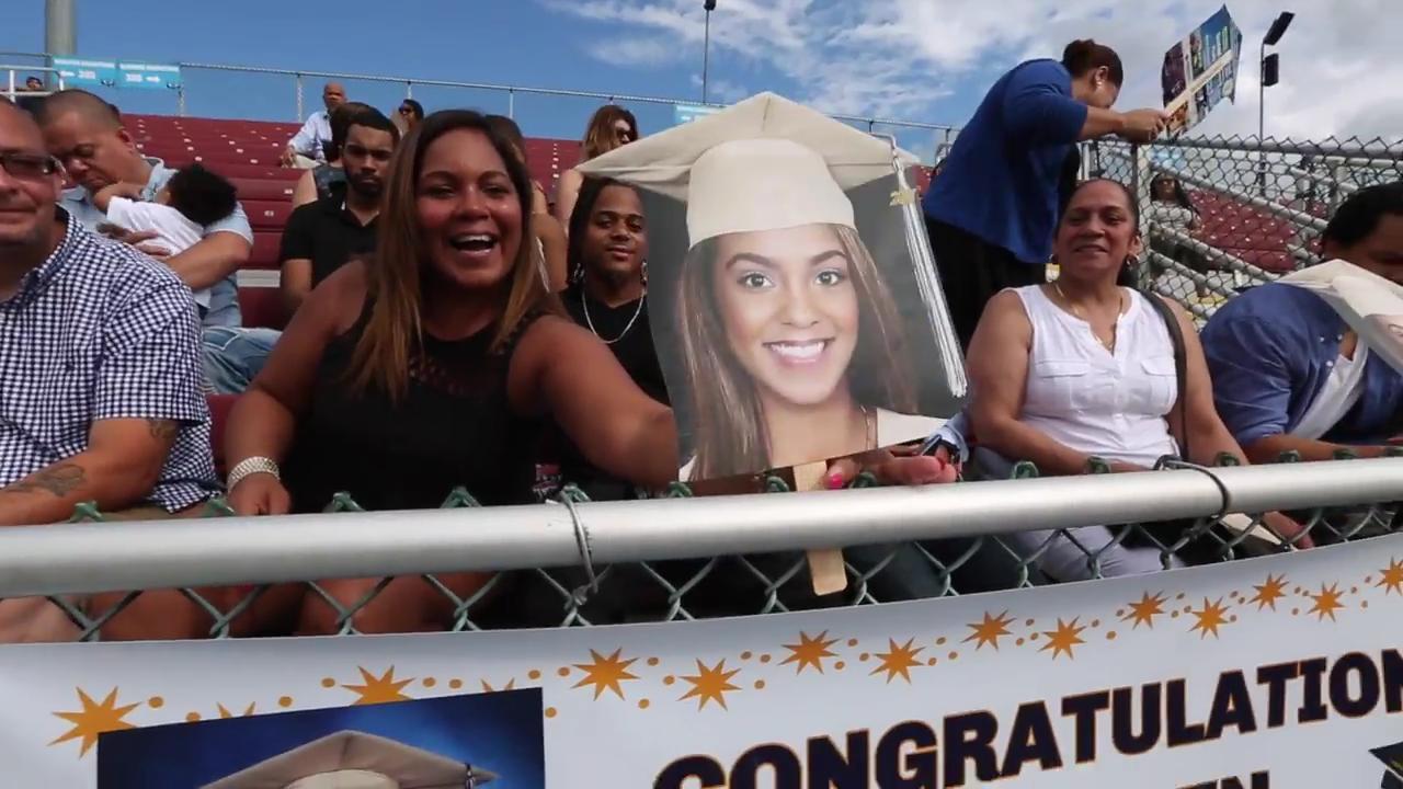 Beacon High School graduation at Dutchess Stadium Saturday, June 24, 2017.