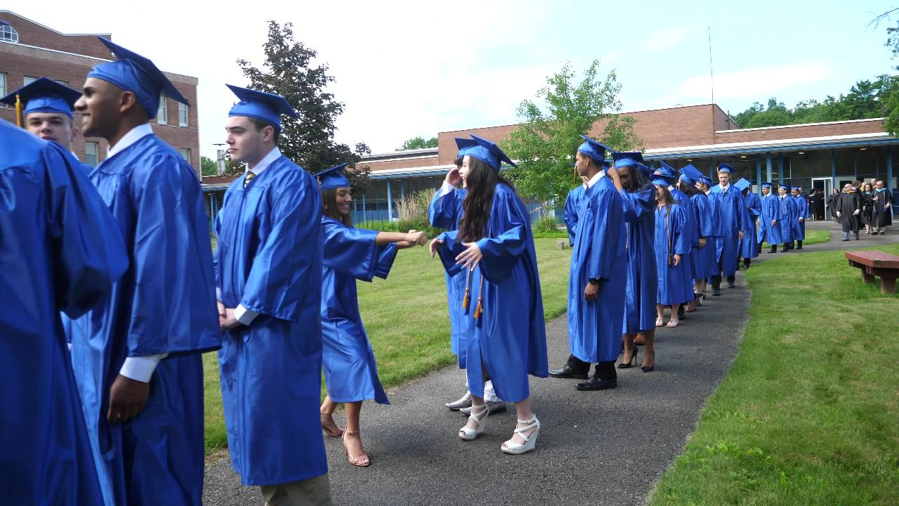 See the graduating Class of 2017 from Our Lady of Lourdes High School.