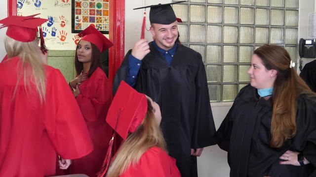 The Orchard View Alternative High School Graduation took place in Wappingers Falls June 23, 2017.