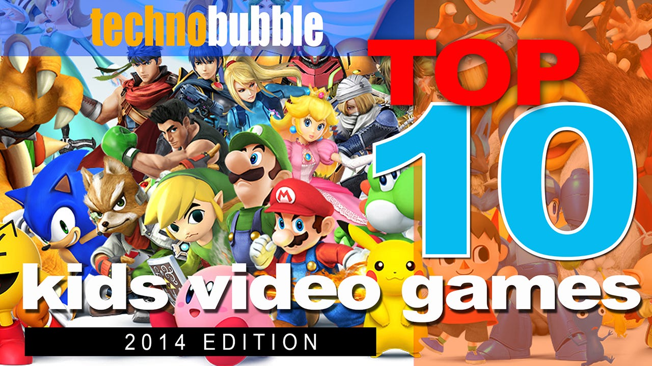 Top 10 Console Games For Kids In 2014 Technobubble