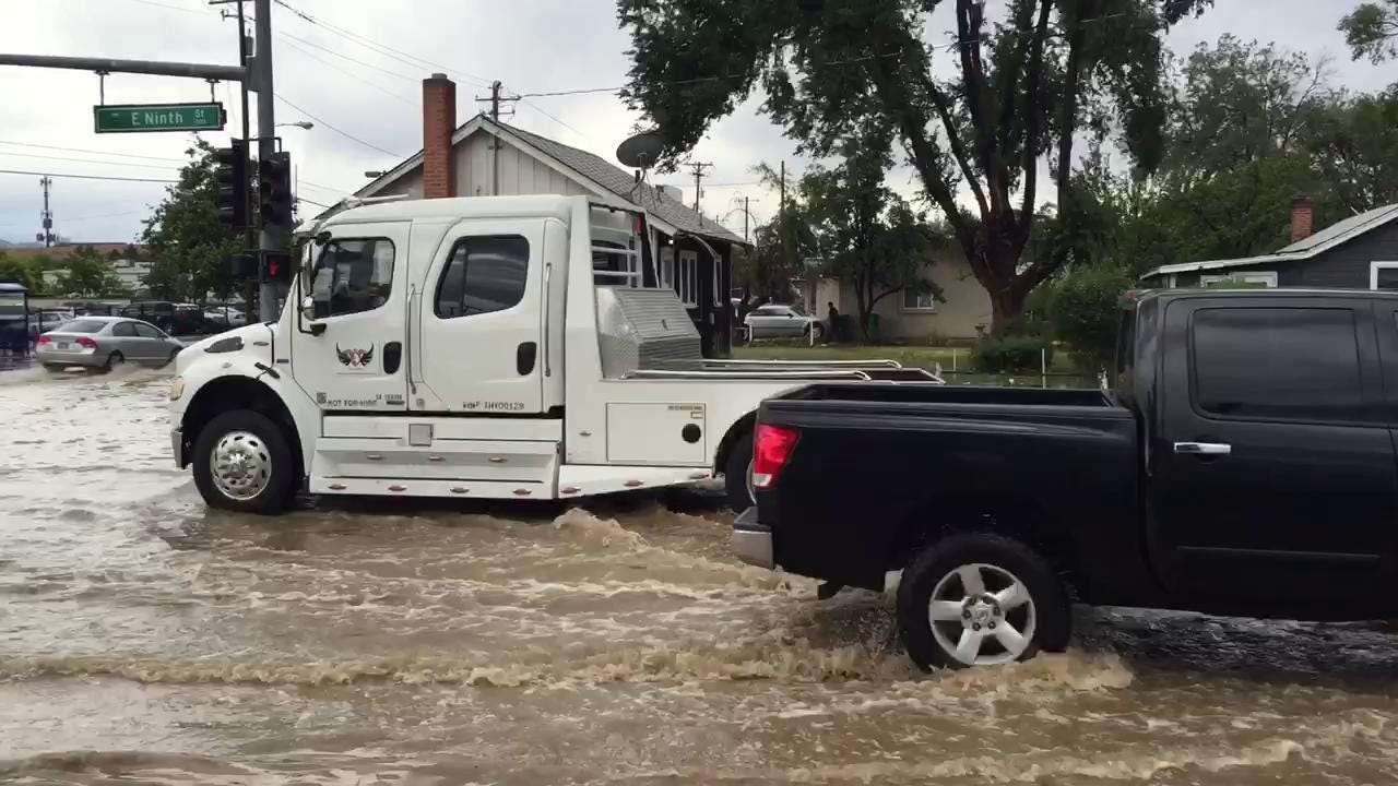 Unusual storms overwhelm stormwater systems