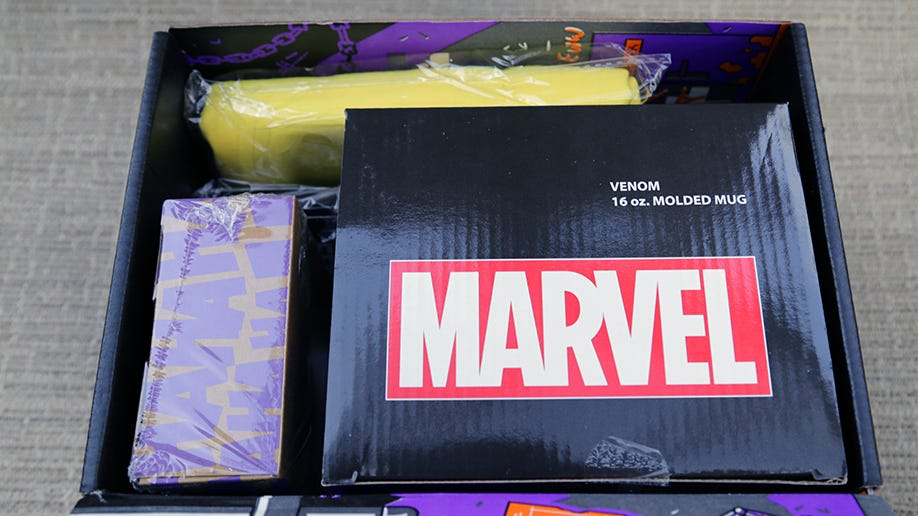 Bad to the Bone: Loot Crate 'Villains 2' Unboxing (watch video)