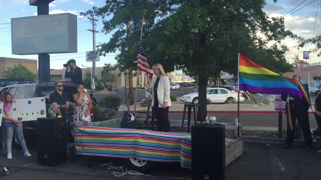 Watch: Reno Mayor Schieve addresses vigil