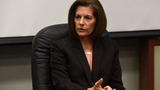 Catherine Cortez Masto is the Democratic nominee in the race to replace outgoing U.S. Sen. Harry Reid, D-Nev. Her opponent is Rep. Joe Heck, R-Nev.