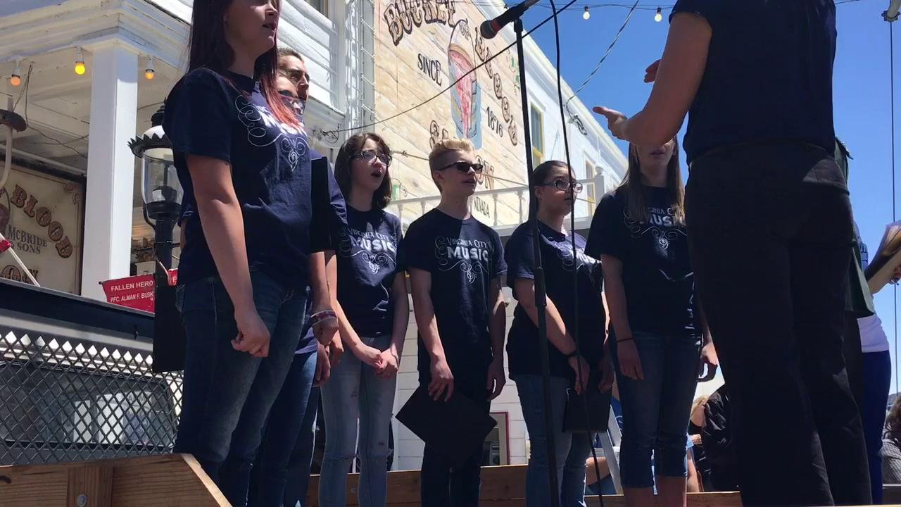 Watch: Virginia City Memorial Day parade highlights