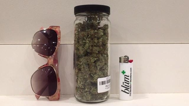 Watch: Do you know what an ounce of marijuana looks like?
