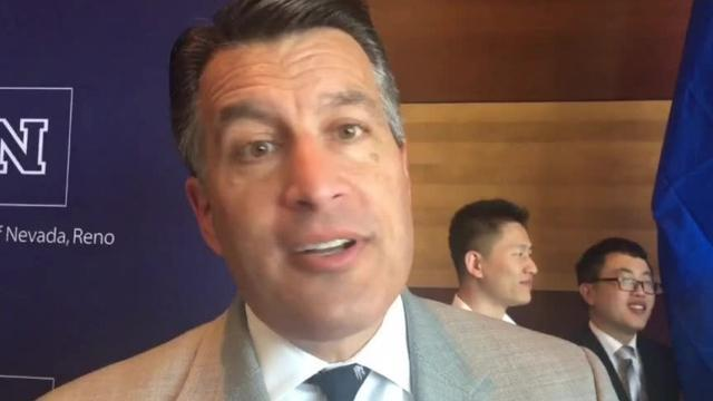 In June 2017, Nevada Gov. Brian Sandoval said he would like nothing better than to see Northern Nevada home to Oakland Raiders practice fields.