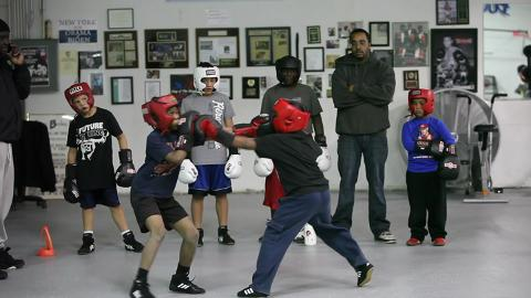 Kids Fight For Their Dreams At Boxing Club
