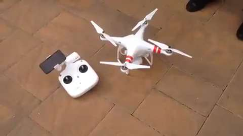 Drones used for real estate