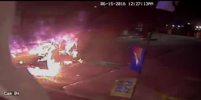 Video: Man Injured In Upstate NY Gas Station Blast Caught On Camera