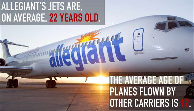 Watch Allegiant Air Planes Likely To Fail During Flight