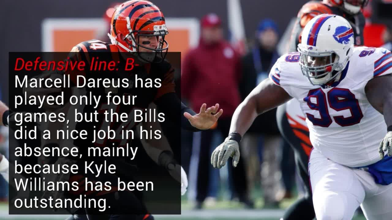 Buffalo Bills 3rd-quarter report card