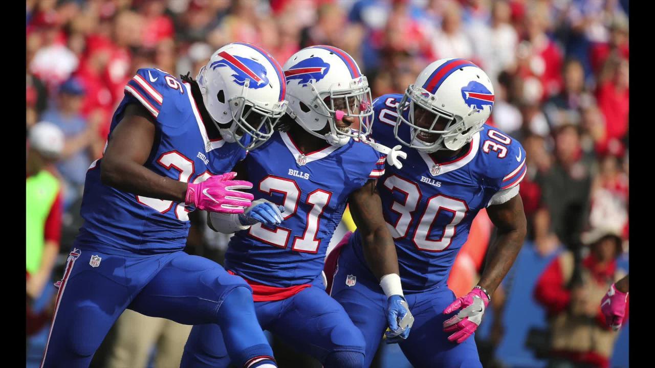 Watch: The best, worst of Bills 2016