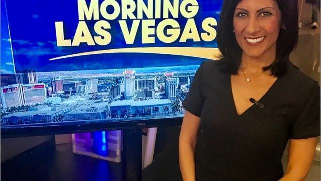 Good Morning Las Vegas breaking news anchor Dayna Roselli is from Henrietta