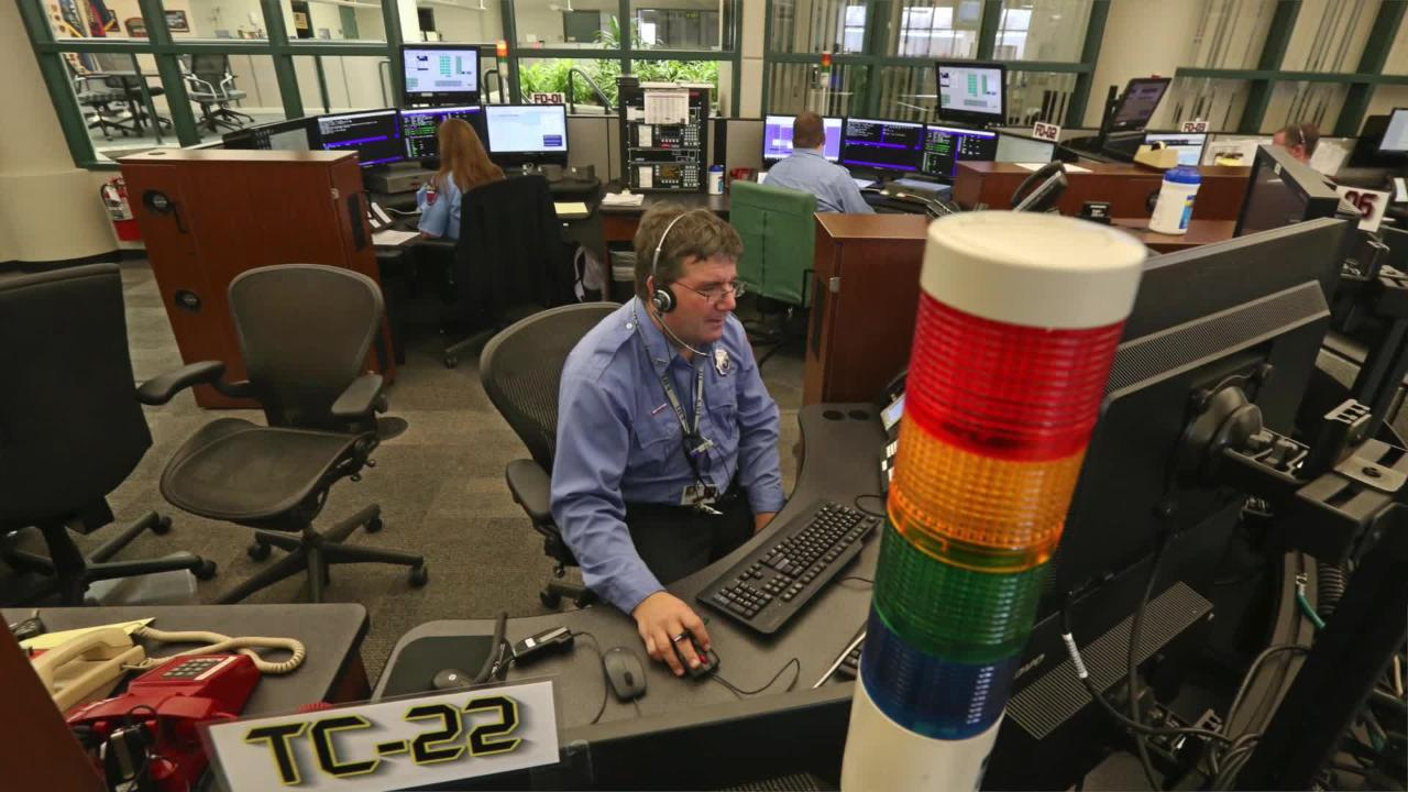 911 Center staffers are first first responders