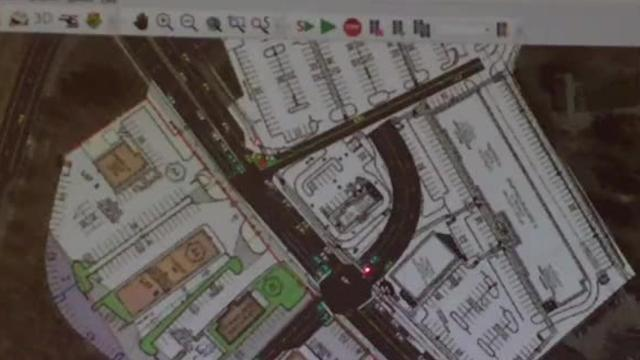 Simulation brings traffic to life