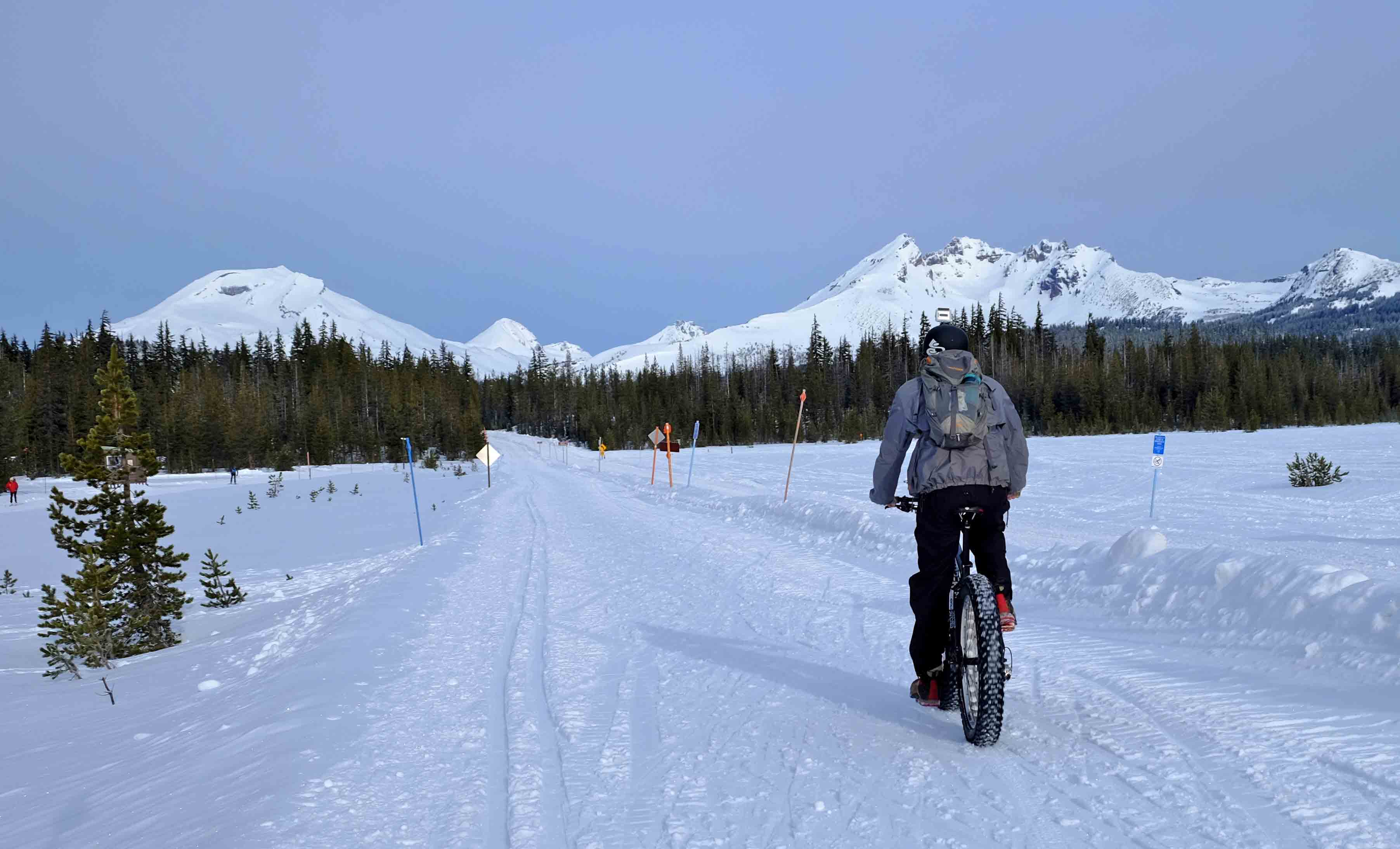 Bend Snow Biking