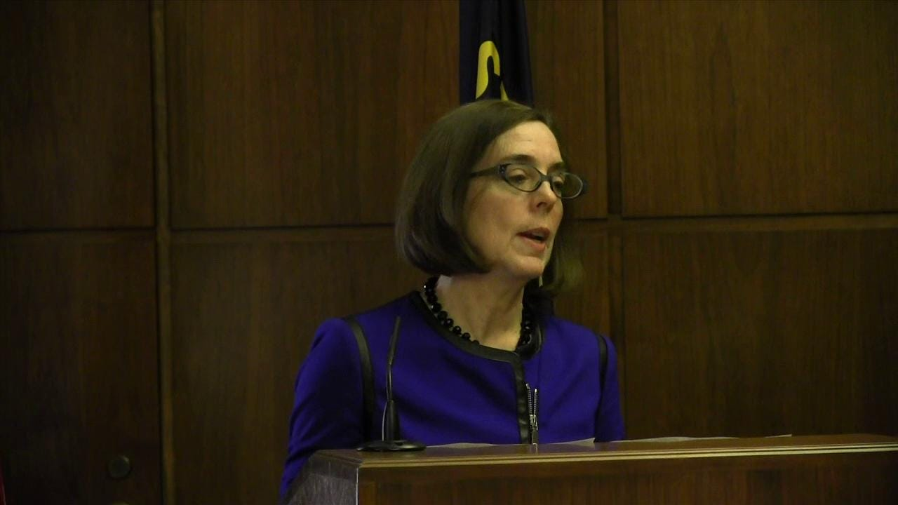 Nation's First Bisexual Governor Takes Oath of Office in Oregon