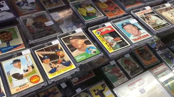 You don't have to be a collector to enjoy a visit to The New Hobby, a sports card and memorabilia shop in Salem, and you might be surprised at what you find.