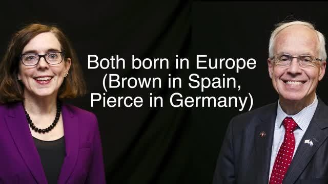 Fun Facts: Kate Brown and Bud Pierce