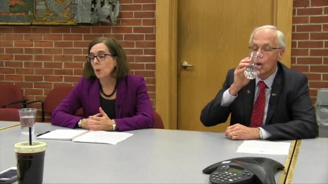 Gov. Kate Brown and Dr. Bud Pierce respond to the Statesman Journal Editorial Board on how to combat domestic violence in Oregon.