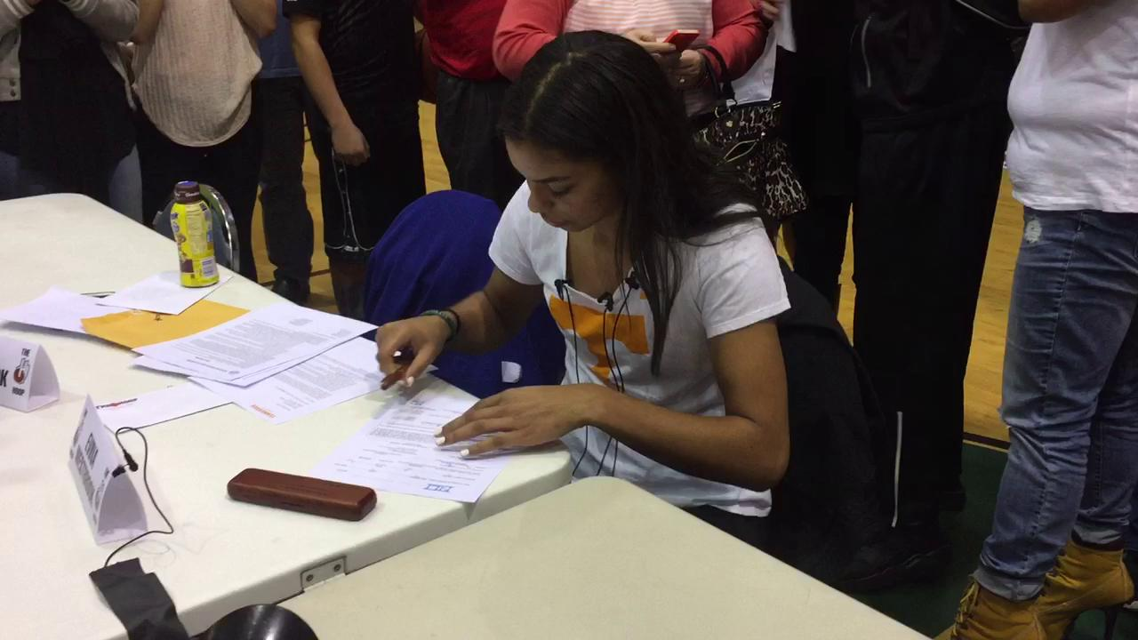 South Salem's Evina Westbrook signs with Tennessee