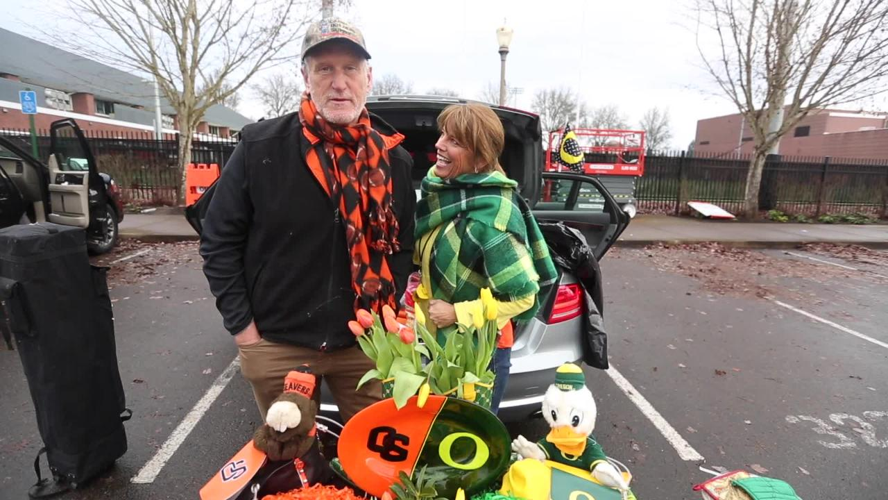 House divided: Beavers and Ducks fans married 35 years