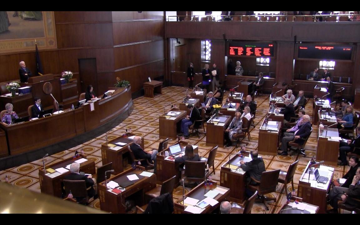 Oregon State Capitol Tour: Process