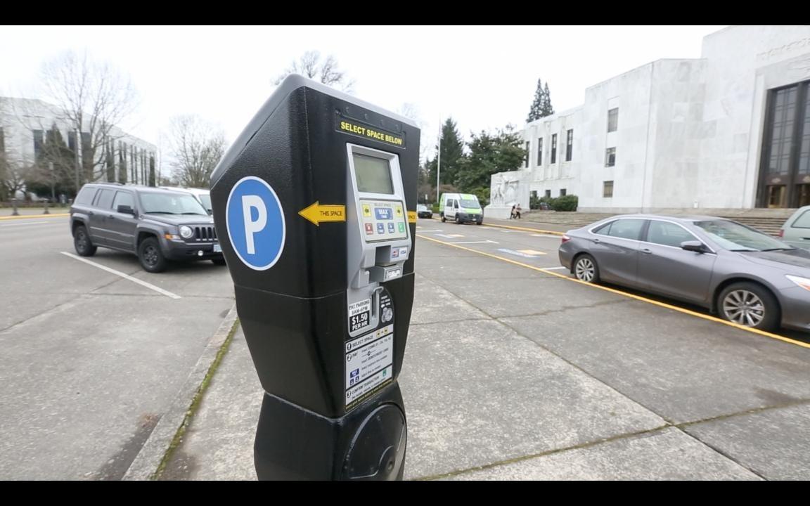 Oregon State Capitol Tour: Parking