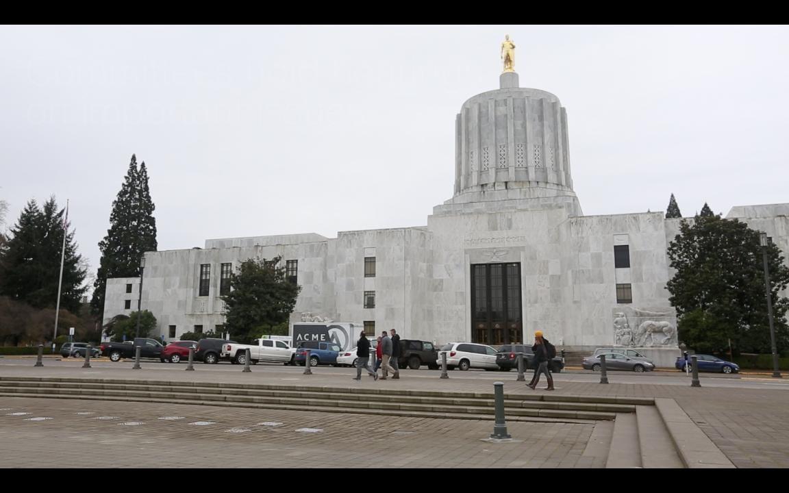 Oregon State Capitol Tour: Basics
