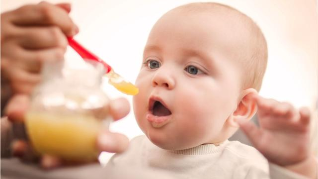 Image result for baby with fruit
