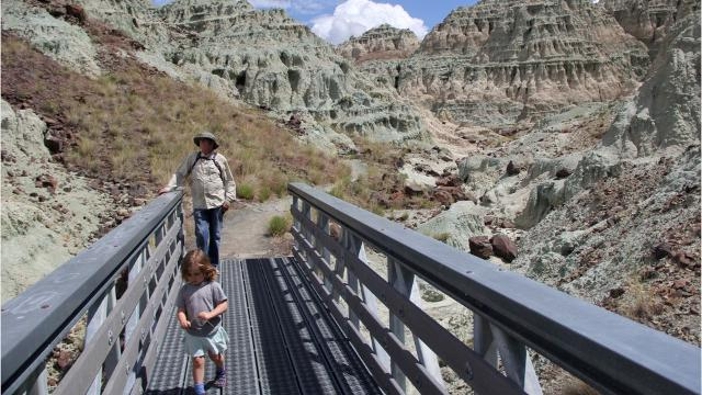 VIDEO: Hike in John Day Fossil Beds leaves you smarter