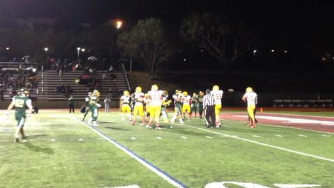VIDEO: Palma's Martinez hurdles, then scores TD