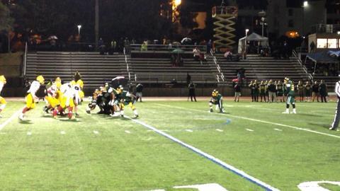 VIDEO: Palma stuffs field goal attempt